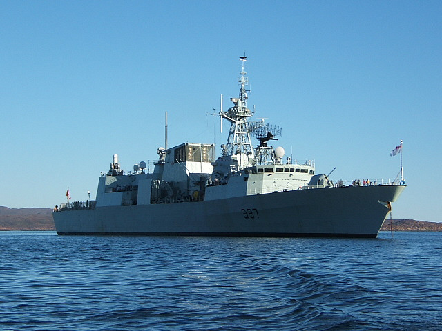 Canada's Fredericton frigate