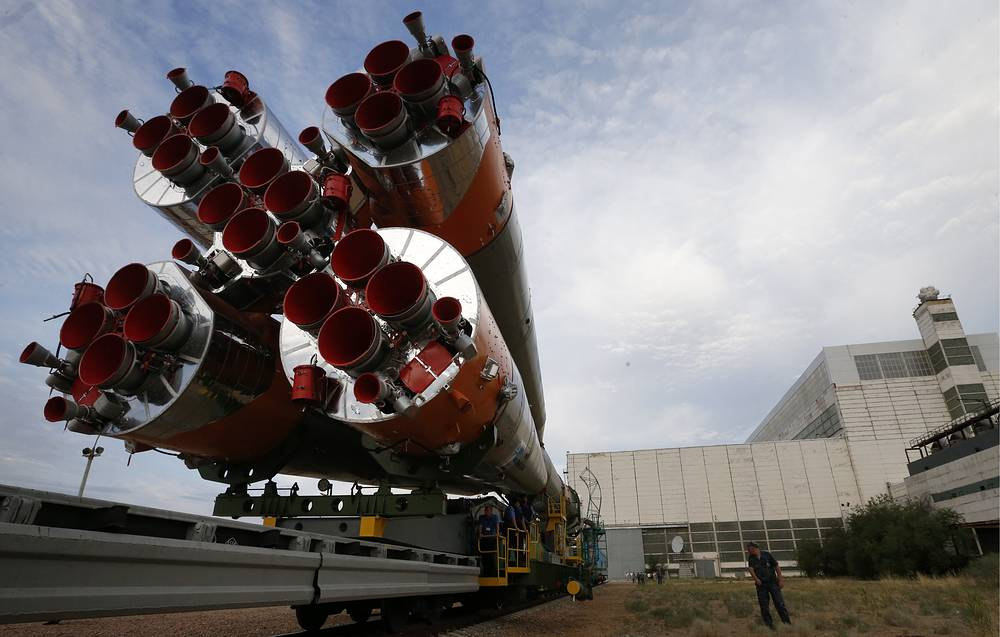 Soyuz FG rocket booster