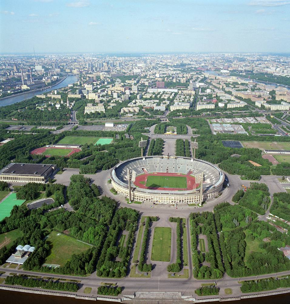 View of the stadium, 1992