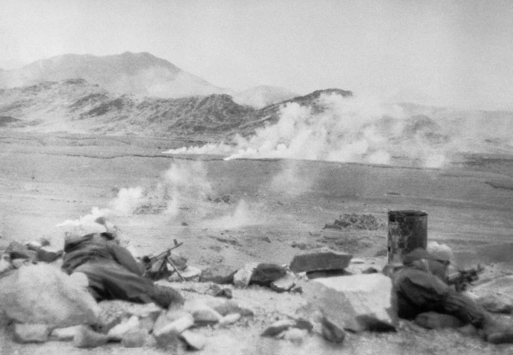 The most large-scale combat airborne operation in the USSR Armed Forces after the Great Patriotic War was the 5th Panjshir offensives 1982 (Afghanistan)