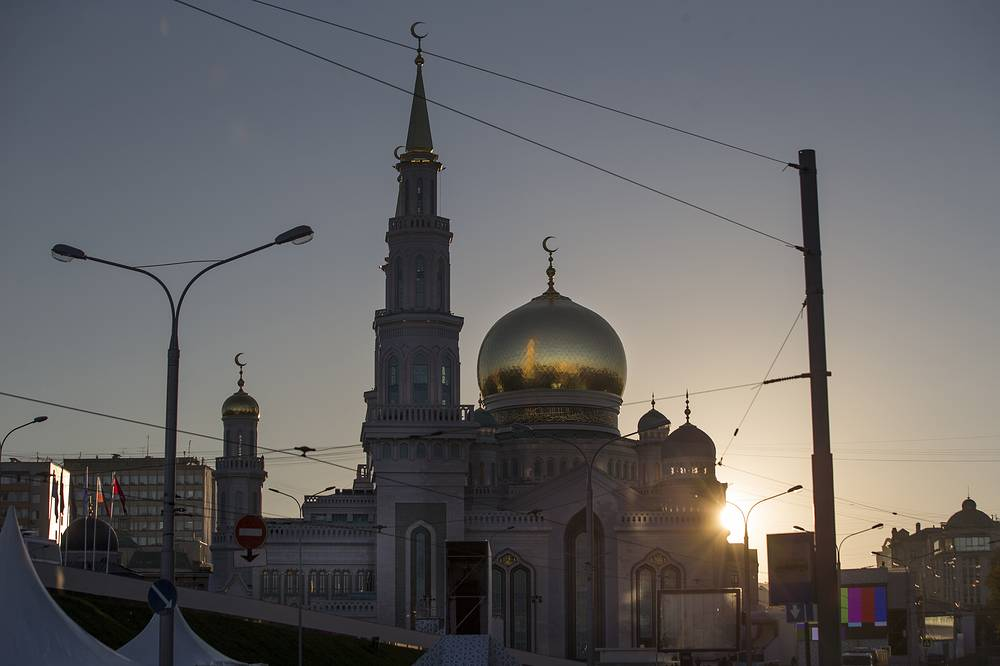 The Grand Mosque opened on September 23 in the Russian capital after a decade of construction work