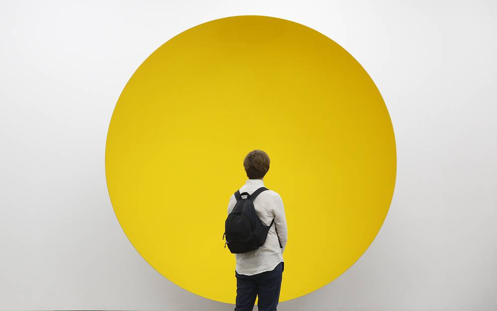 Artwork 'Shelter' of Anish Kapoor