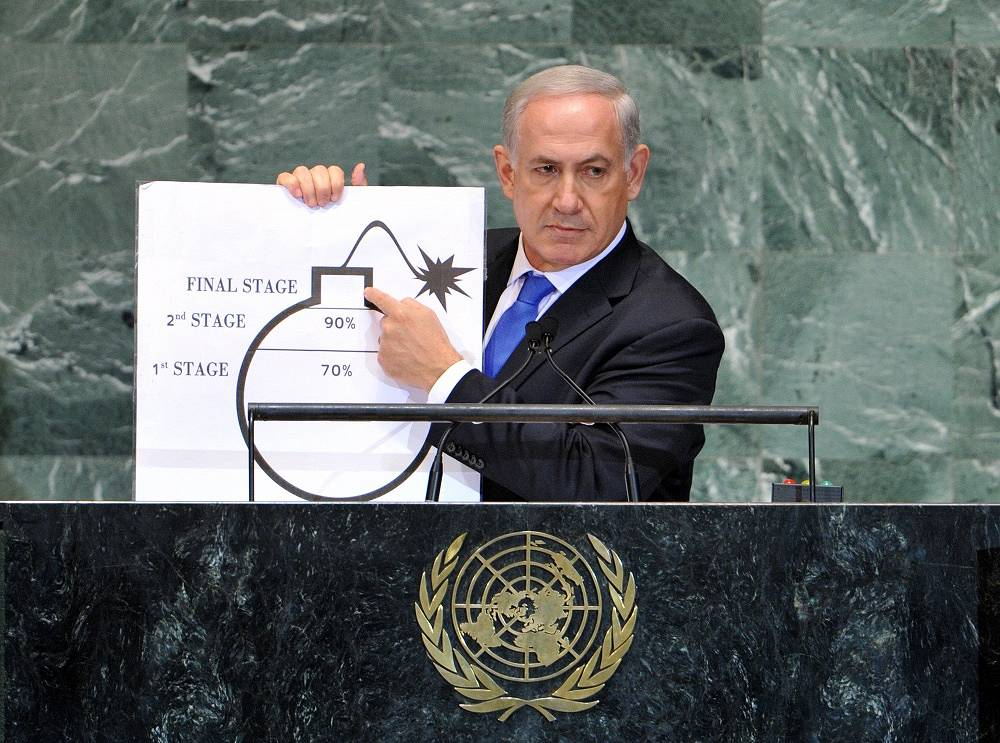 The disputes between the heads of Israeli and Iranian delegations are among the most heated discussions of recent years at the UN. Israeli Prime Minister Benjamin Netanyahu and Iranian President Mahmoud Ahmadinejad always exchange sharp accusations