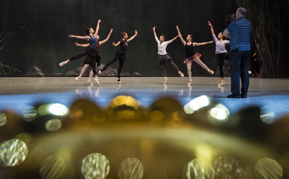 Rehearsal at the Mariinsky Theater Second Stage