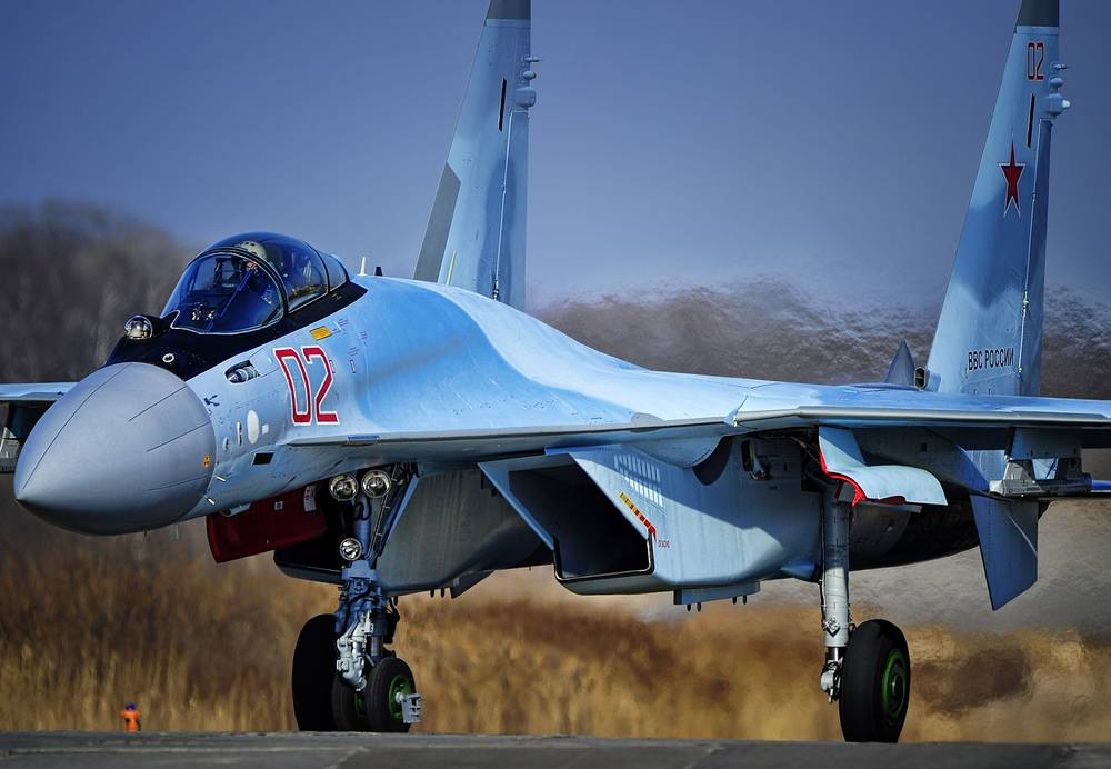 Sukhoi Su-35S fighter
