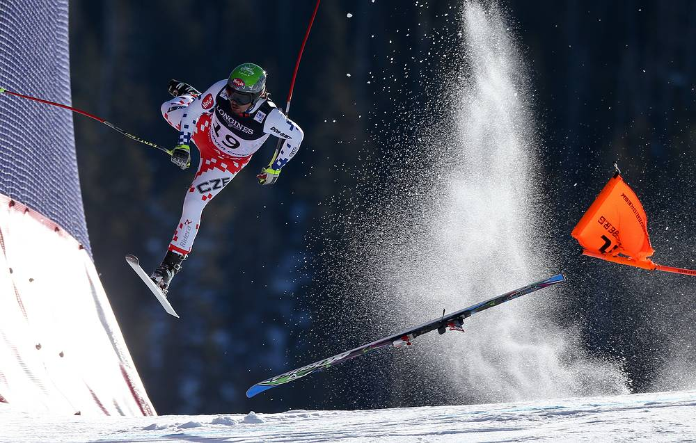 Austrian photographer Christian Walgram for GEPA pictures, 1st prize singles in the Sports category. The picture shows Czech Republic's Ondrej Bank crashing during the downhill race of the AlpineCombined at the FIS World Championships in Beaver Creek, Colorado, USA, on 15 February 2015