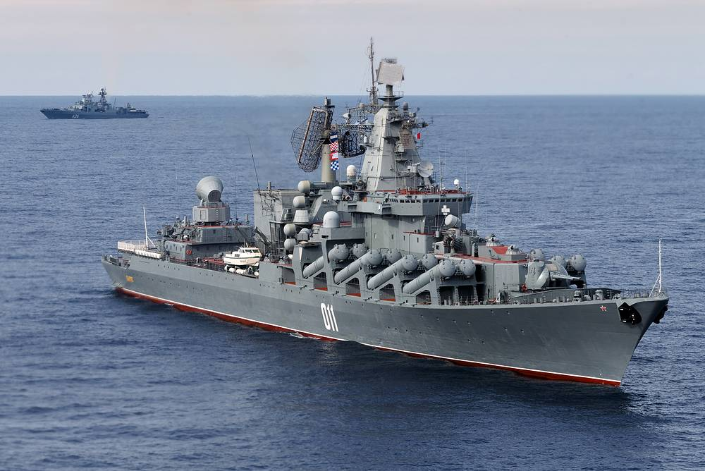 The Russian Pacific Fleet's Varyag cruiser