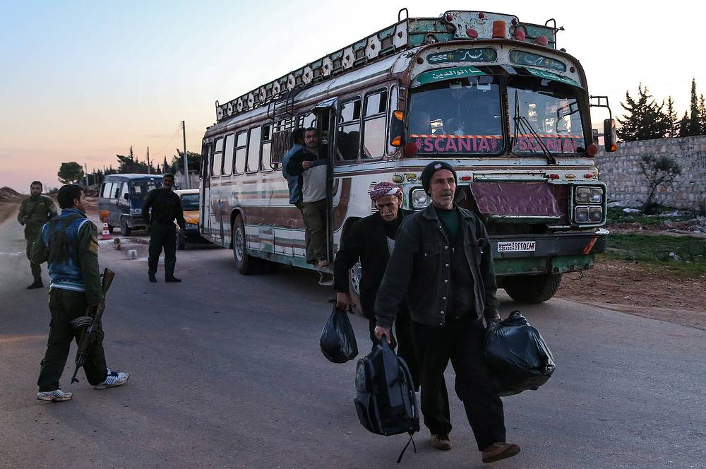 Syrian Kurdistan edge between Aleppo and Afrin