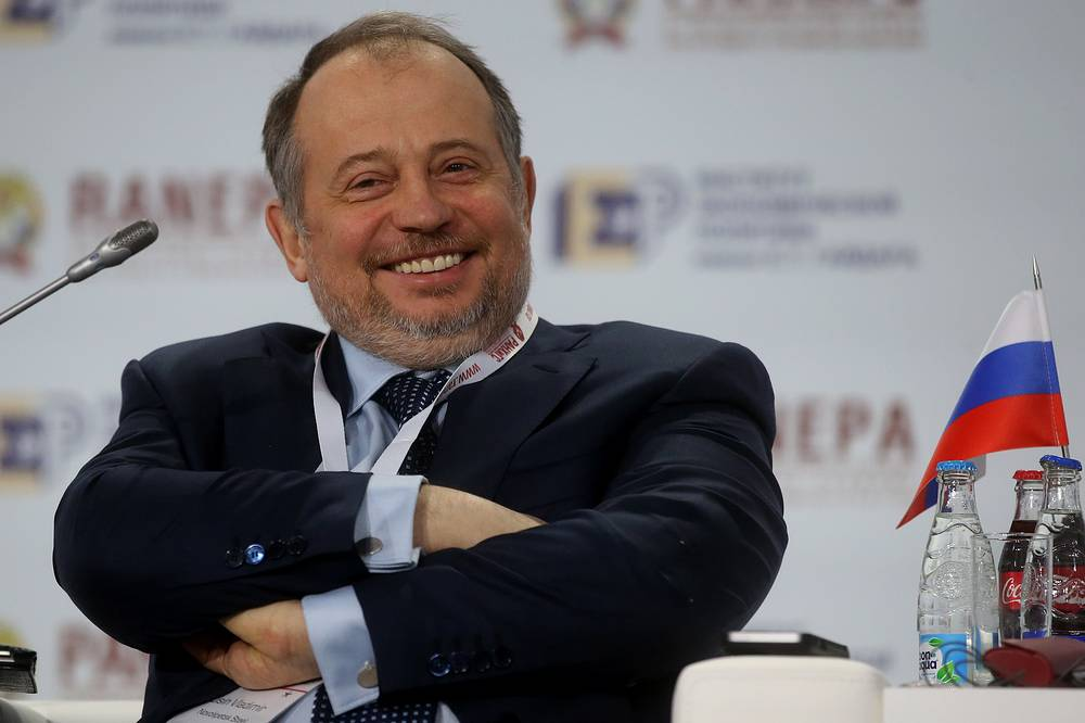Vladimir Lisin, chairman and the majority shareholder of Novolipetsk or NLMK, one of the four largest steel companies in Russia, $9.3 bln