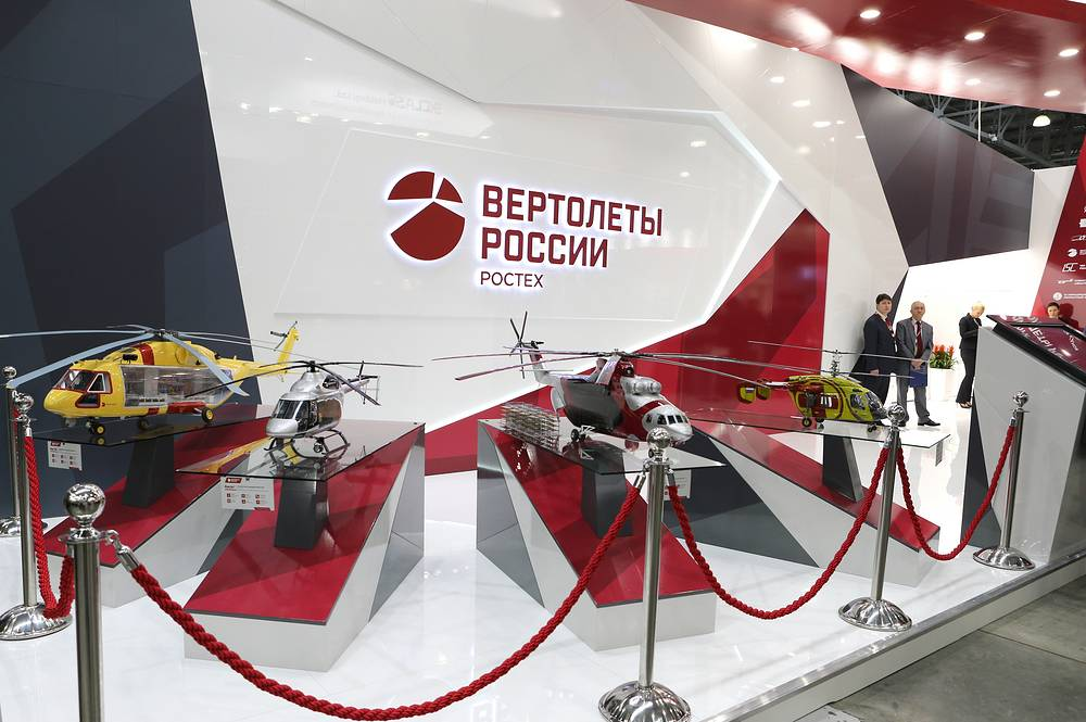 Models of Mi-38, Ansat and Ka-52 helicopters