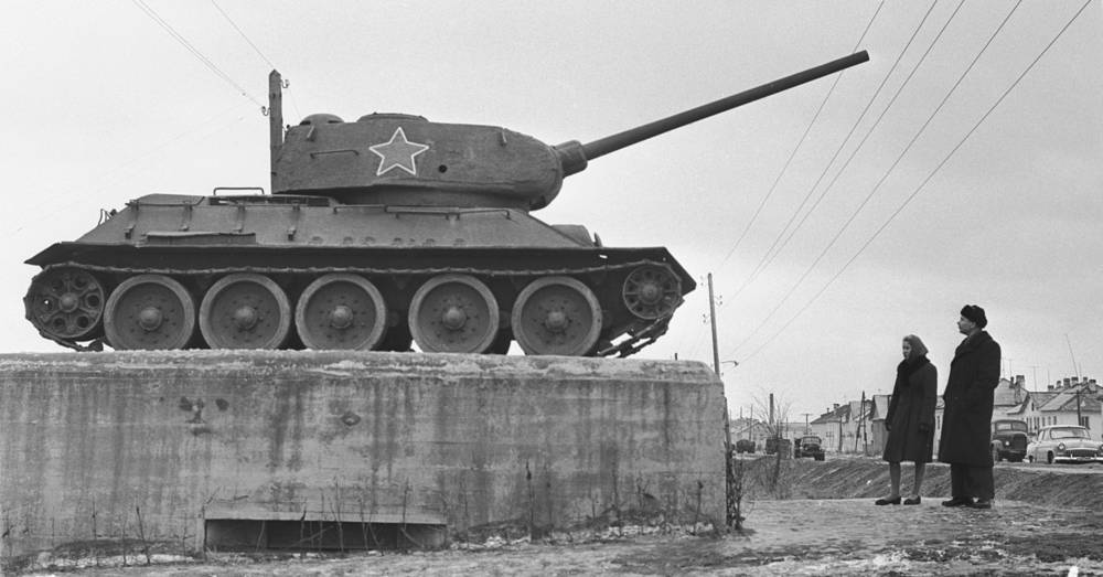 Soviet medium tank T-34 is often credited as the most effective, efficient and influential tank design of the World War II. Photo: T-34 tank, 1964