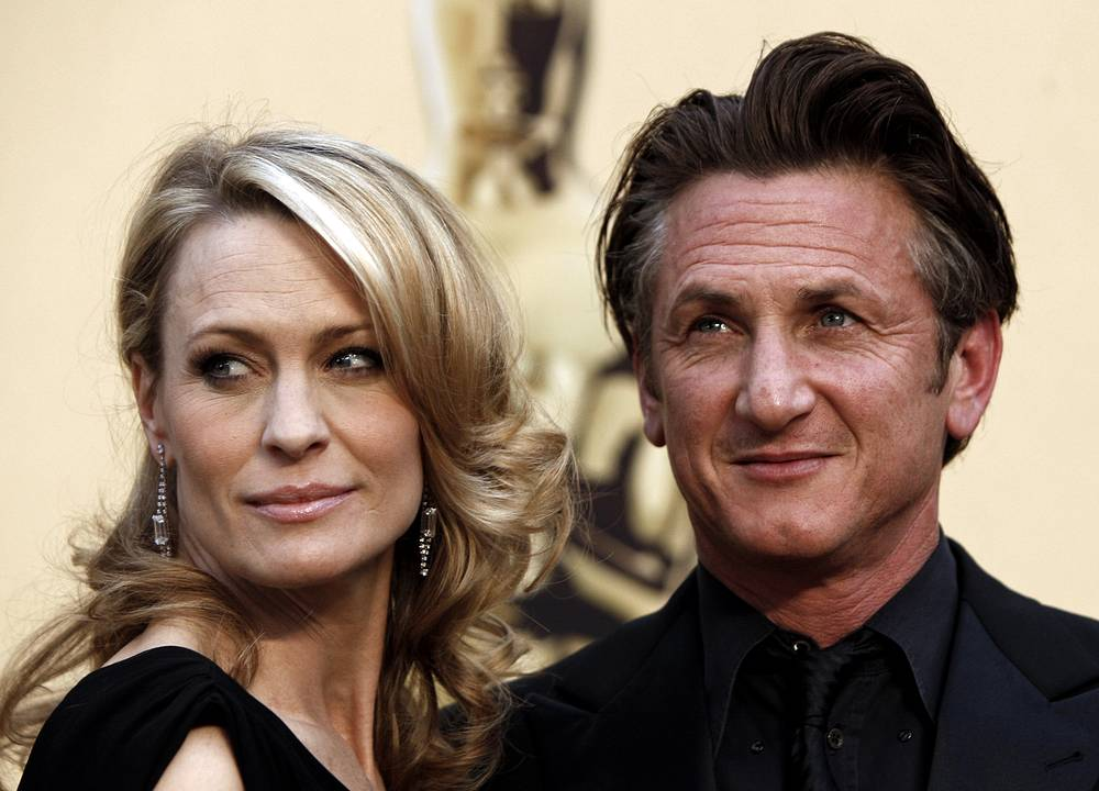 Robin Wright Penn and Sean Penn married in 1996, but she filed for divorce in 2009