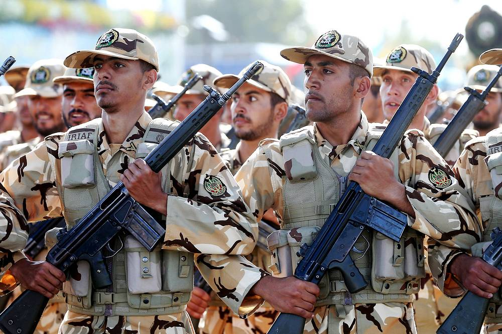 Iranian armed forces