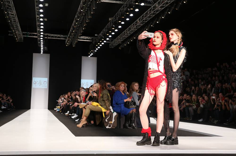 Collection by the designers of the CONTRFASHION project