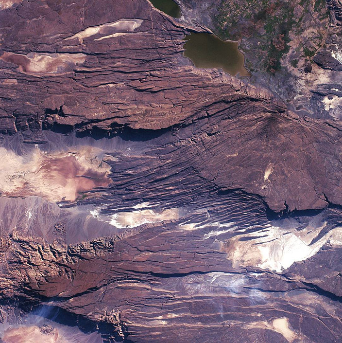 Great Rift Valley in South Eastern Africa