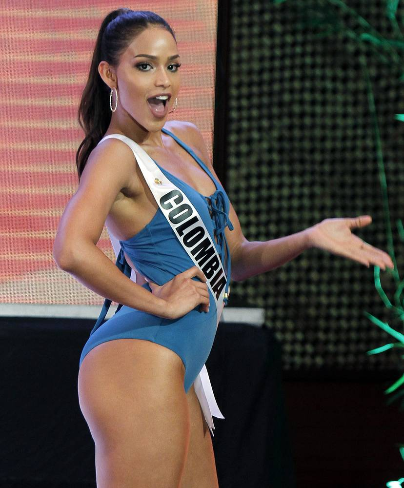 Andrea Tovar from Colombia