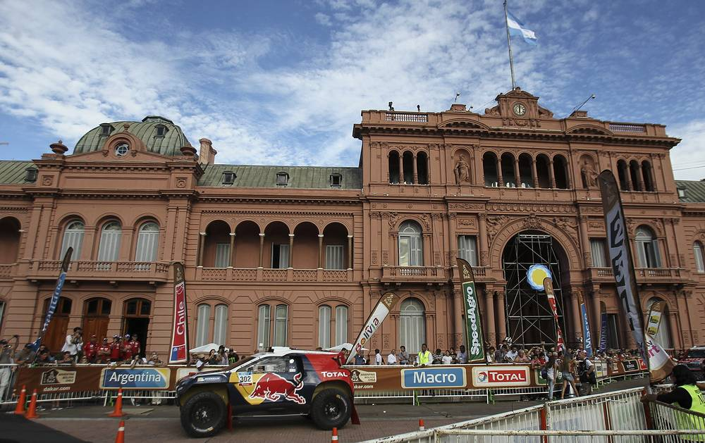 La Casa Rosada in Buenos Aires is the executive mansion and office of the President of Argentina