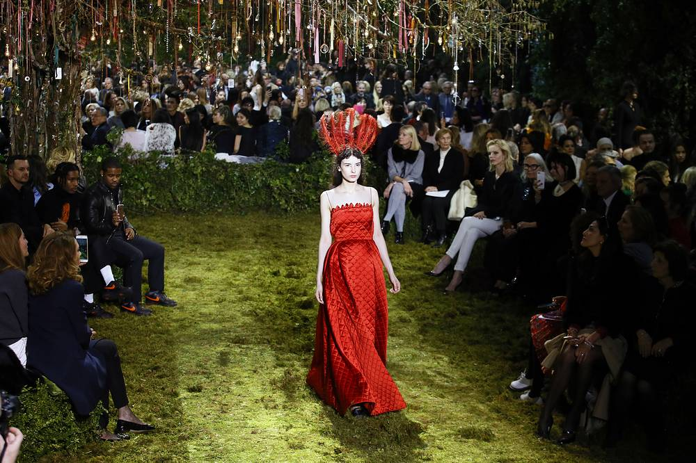 Christian Dior's Haute Couture Spring-Summer 2017 collection presentation