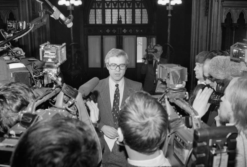 In 1990-1992 Vitaly Churkin was director of the Information Department of the Ministry of Foreign Affairs of the USSR/Russian Federation