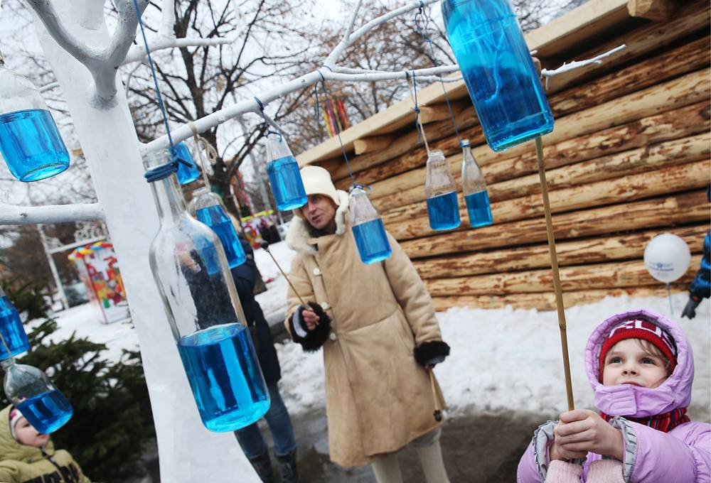 Maslenitsa celebrates the end of winter and marks the arrival of spring