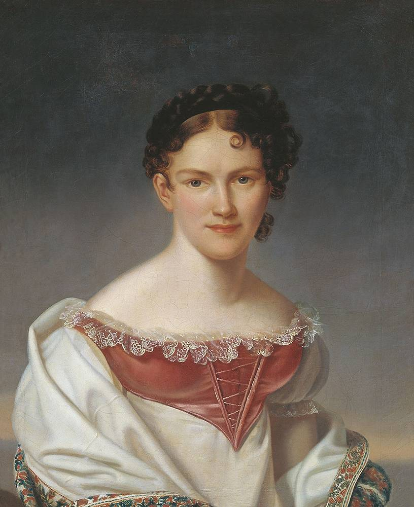 Avdotia Istomina (1799-1848) was the most celebrated Imperial Russian ballerina of the 19th century. She was considered one of the first dancers to master the pointe technique