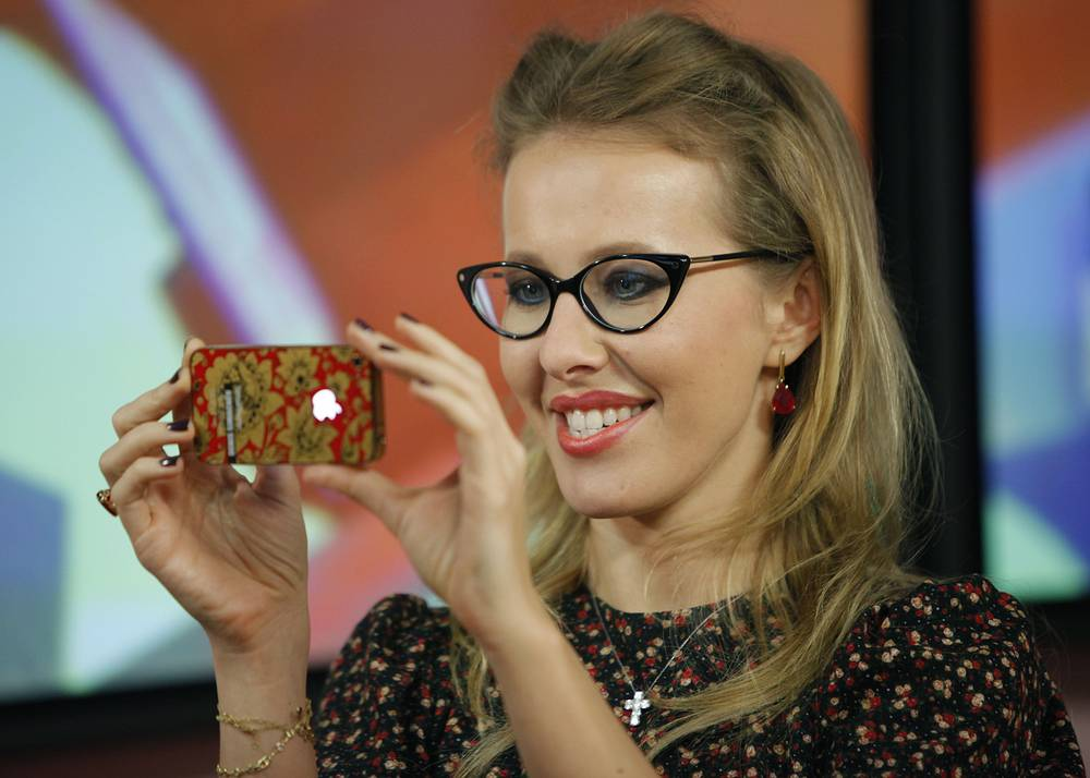 Ksenia Sobchak, the Russian socialite, journalist and TV host announced plans to run for Russian president next year
