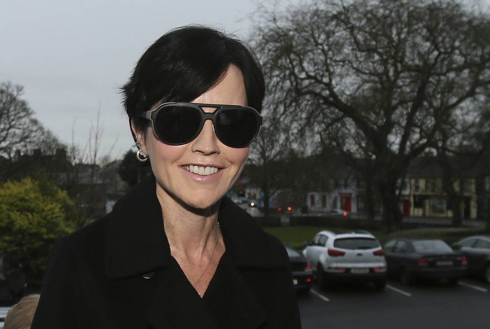 Dolores O'Riordan in Ennis, Ireland, 2015