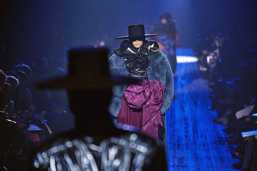 Fashion from Marc Jacobs collection is modeled during Fashion Week in New York, USA, February 14