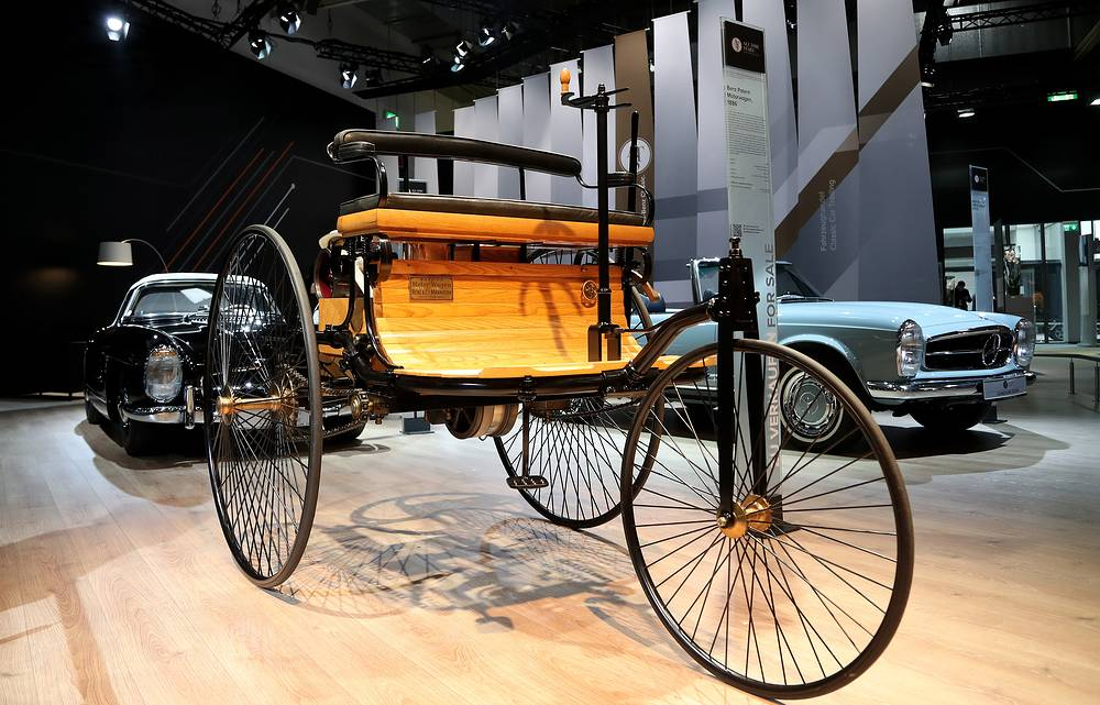 Benz Patent-Motorwagen from 1886