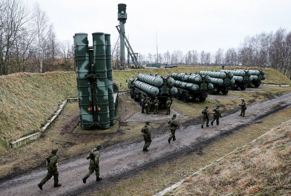 S-400 missile systems has been in service with the Russian Armed Forces since 2007