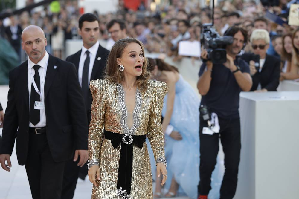 Actress Natalie Portman seen at the premiere of the film 'Vox Lux'