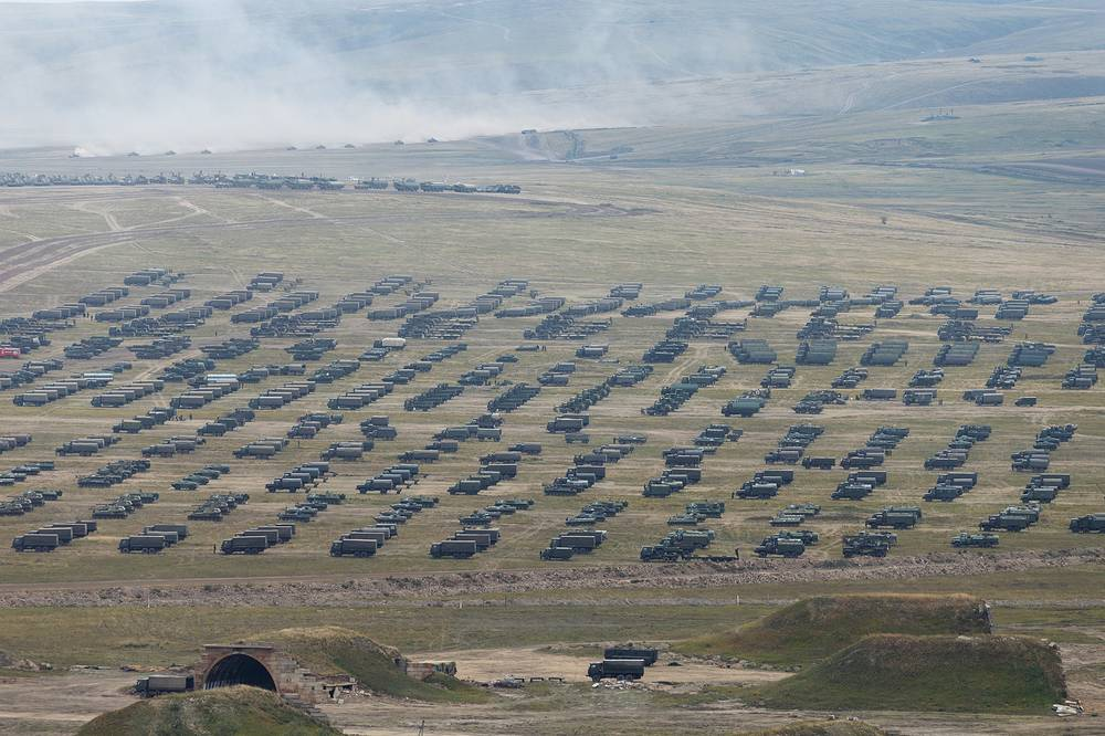 The main stage of the Vostok-2018 strategic drills was held at the Tsugol firing range in the Trans-Baikal Region