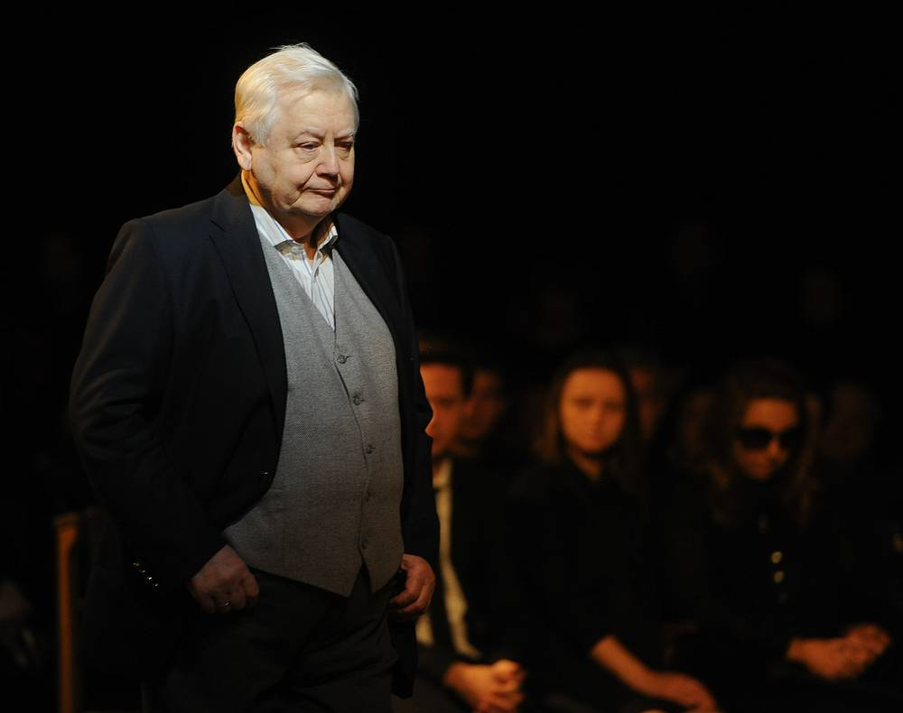 Renowned Russian actor and theater director Oleg Tabakov died aged 82 on March 12