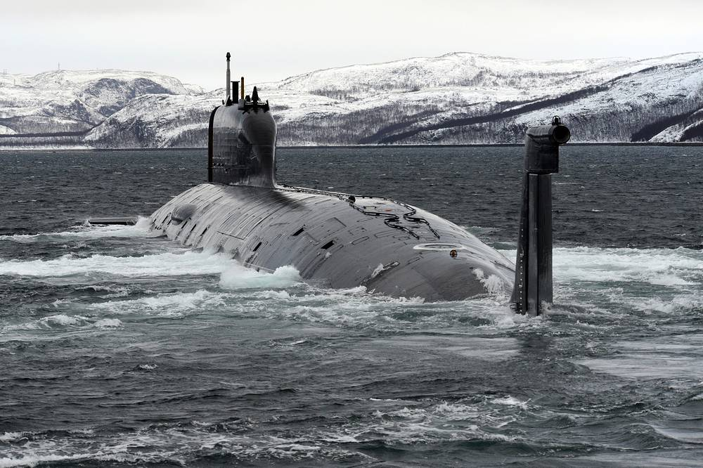 The Project 885 Yasen-class submarine is designed to destroy an enemy's submarines and surface ships, naval bases, ports, naval task forces and other targets