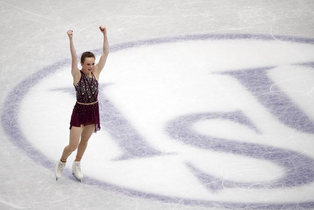 Mariah Bell of the United States