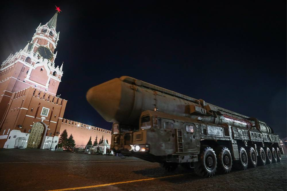 RS-24 Yars intercontinental ballistic missile system
