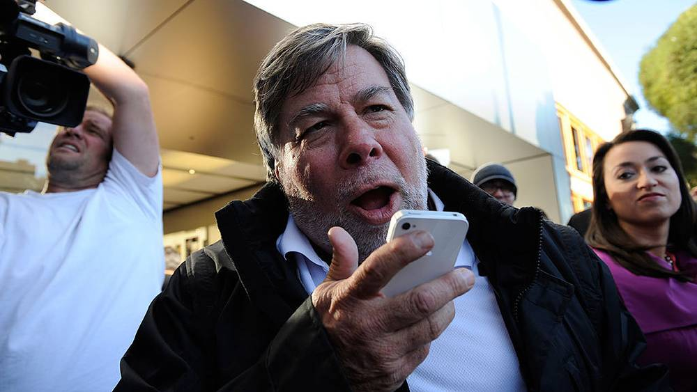 Apple's co-founder Steve Wozniak