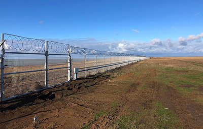 Security measures on the Russian-Ukrainian border strengthened in the Crimea