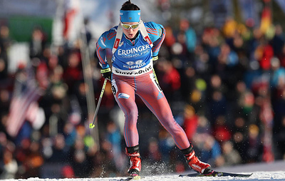 Russian Olympic biathlon champion Sleptsova found guilty of violating anti-doping rules