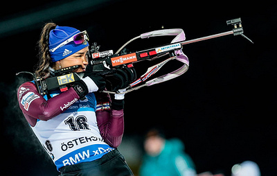 Russian biathletes sweep podium in women's sprint at IBU Cup in Germany