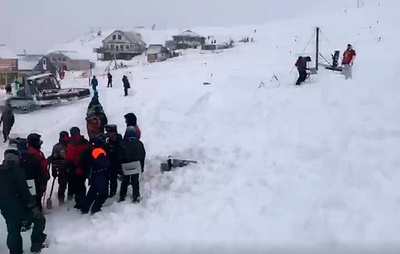 Two people remain missing after avalanche comes down in North Caucasus region