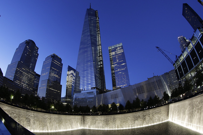 Skyscraper erected in New York on the site where the twin towers of the World Trade Center (WTC) were destroyed during the September 11, 2001 terrorist attacks has been officially recognized as the tallest building in the U.S.