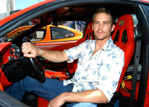 December 1. Hollywood actor Paul Walker (40) dies in car crash
