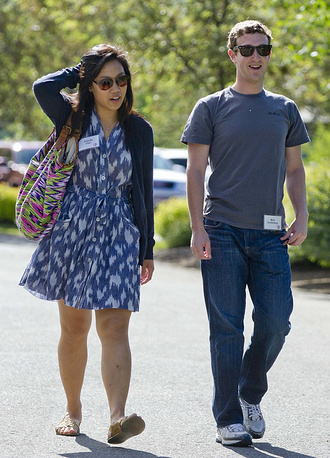 In 2012 Mark Zuckerberg married his lon time girlfriend Priscilla Chan. The celebration also marked her graduation from medical school