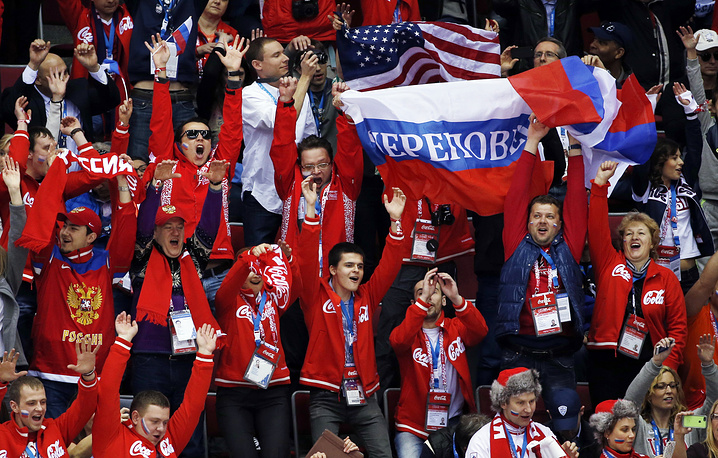Russia's supporters