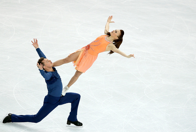 Julia Zlobina and Alexei Sitnikov of Azerbaijan