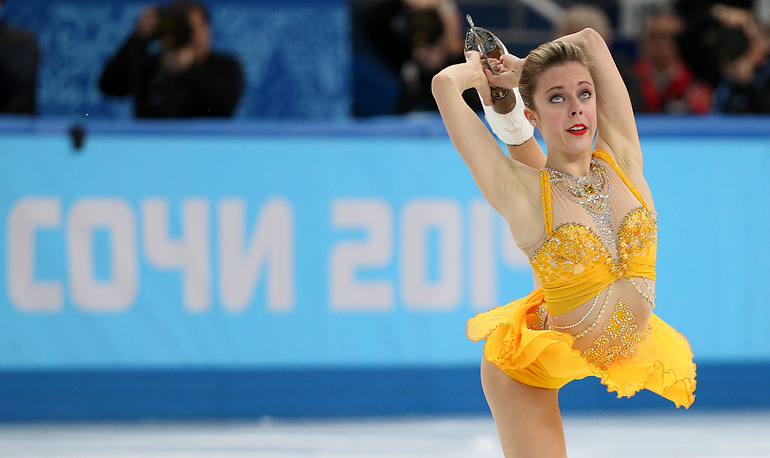Ashley Wagner of the USA