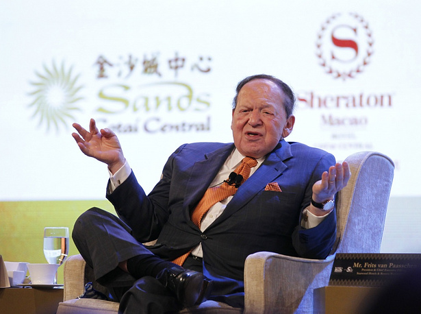 Chairman and chief executive officer of the Las Vegas Sands Corporation Sheldon Adelson, $38 bln