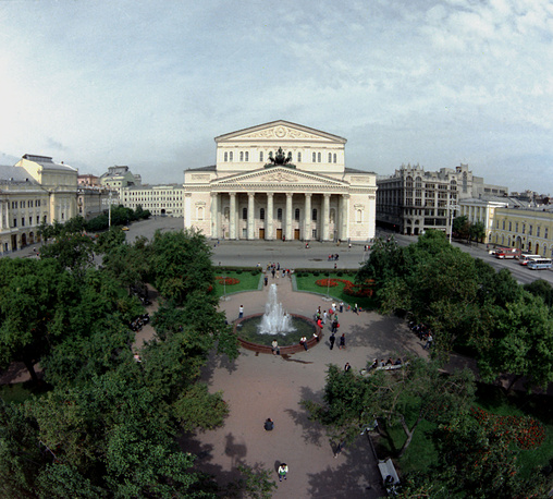 The Bolshoi Theater in 1986