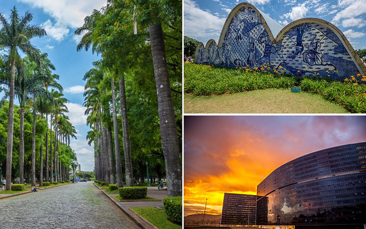 Belo Horizonte is the capital city of the state of Minas Gerais. The name of the city means 'beautiful horizon'